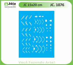 stencil JC 1076