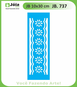 Stencil JB 737