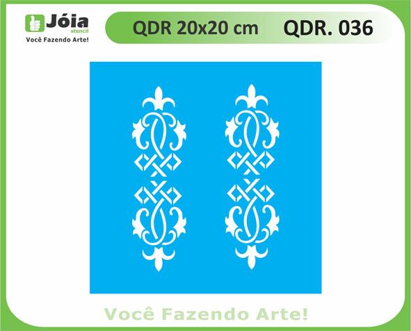 stencil QDR 036