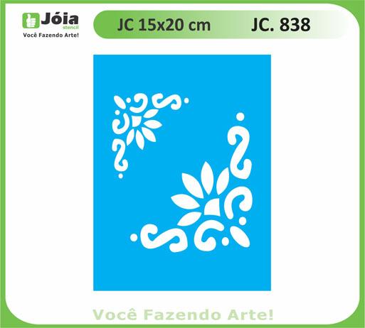 stencil JC 838