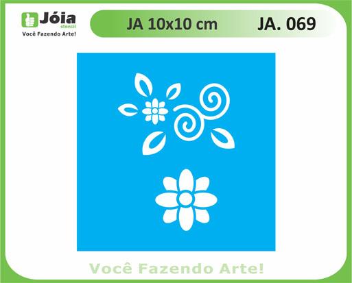 stencil JA 069