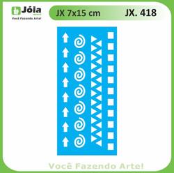 Stencil JX 418