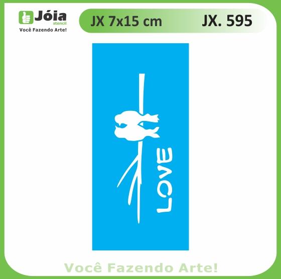 Stencil JX 595