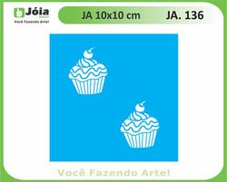 stencil JA 136