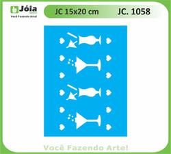 stencil JC 1058