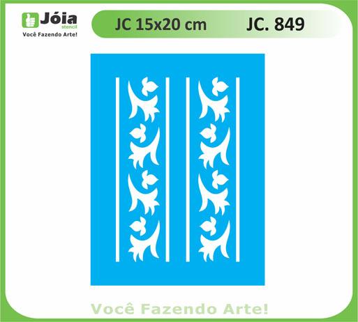 stencil JC 849