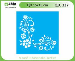 stencil QD 337