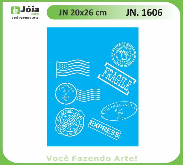 Stencil JN 1606