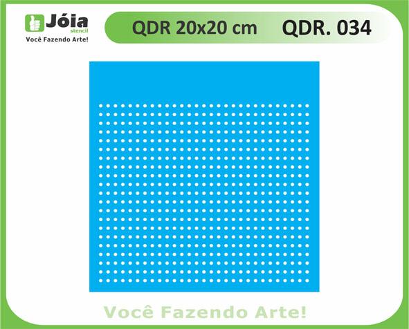 stencil QDR 034