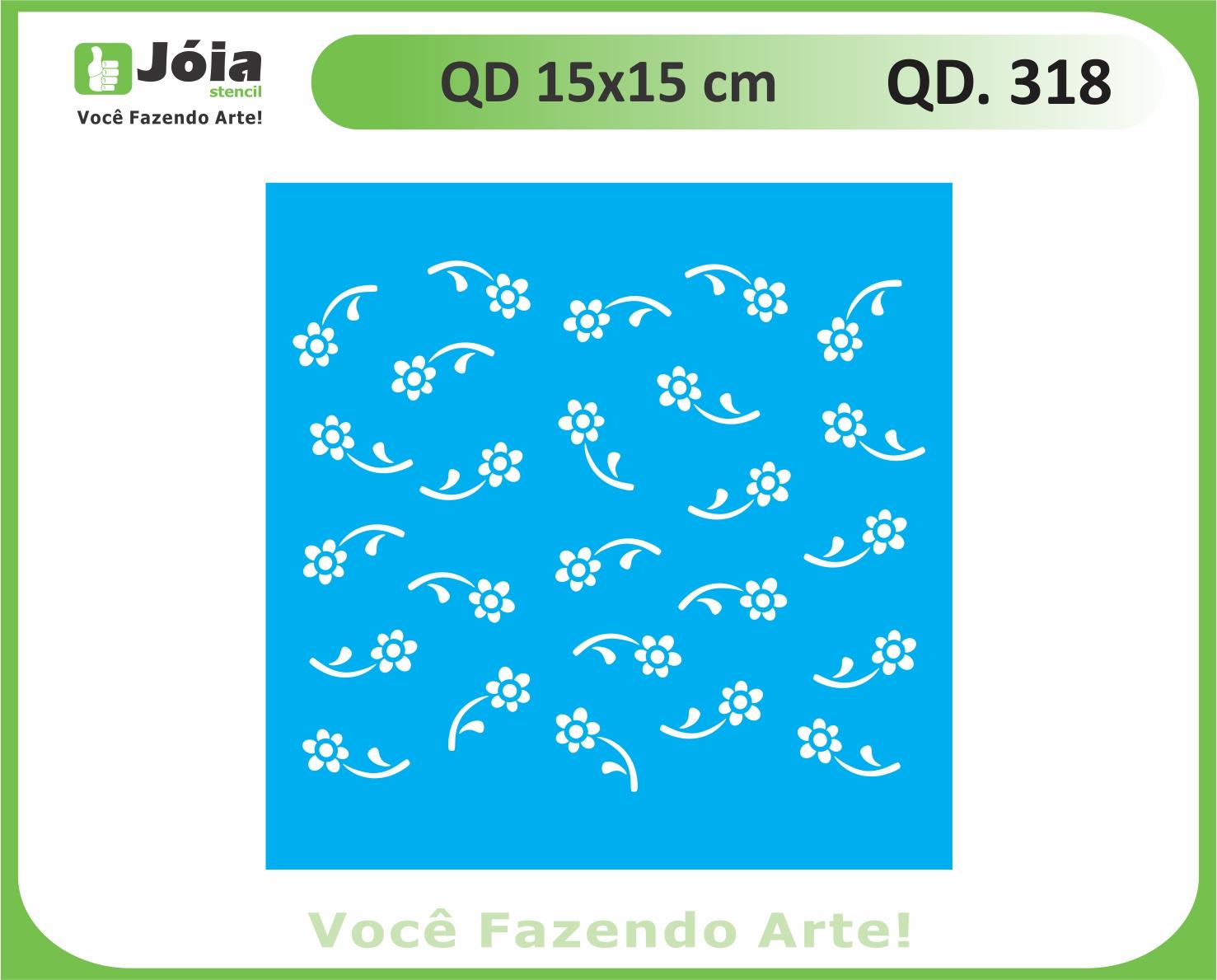 stencil QD 318