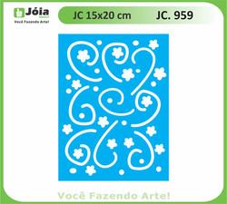 stencil JC 959