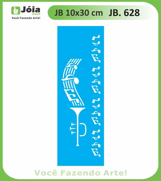 Stencil JB 628