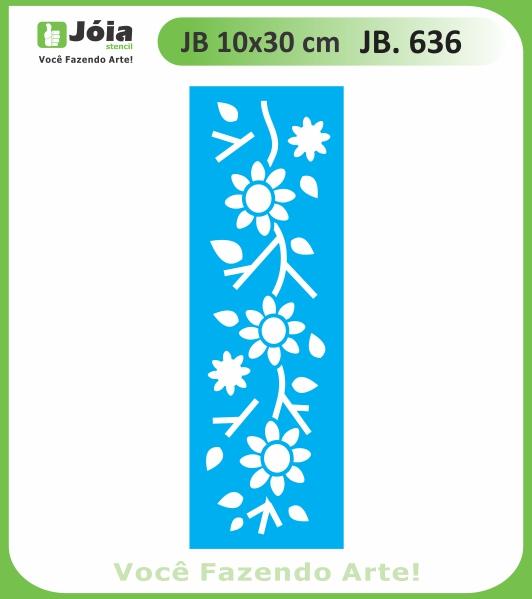 Stencil JB 636