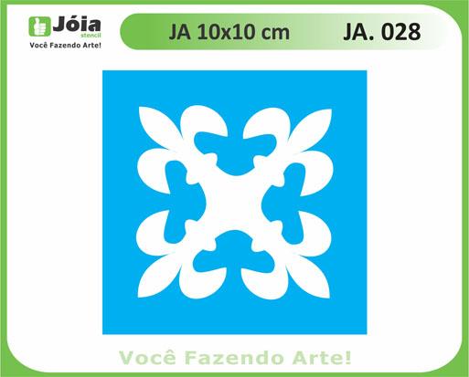 stencil JA 028