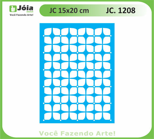 stencil JC 1208