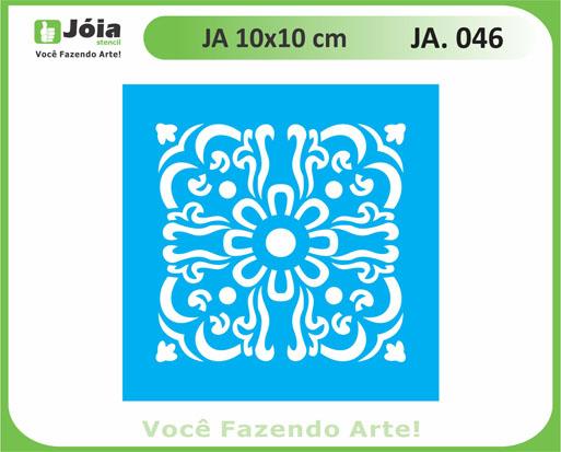 stencil JA 046