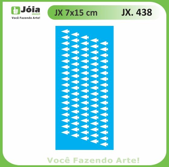 Stencil JX 438