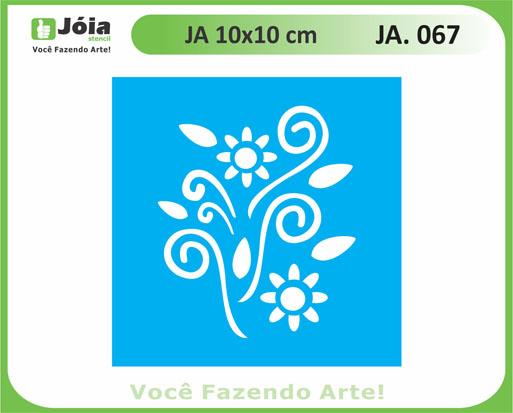 stencil JA 067