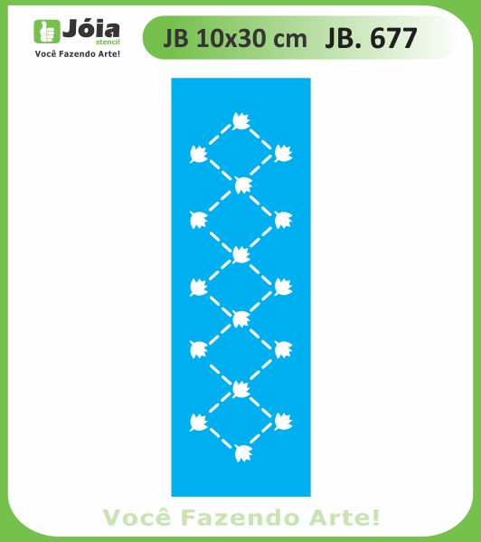 Stencil JB 677