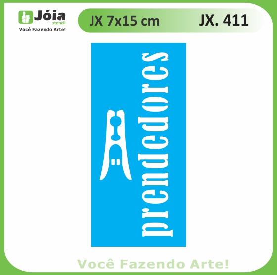 Stencil JX 411
