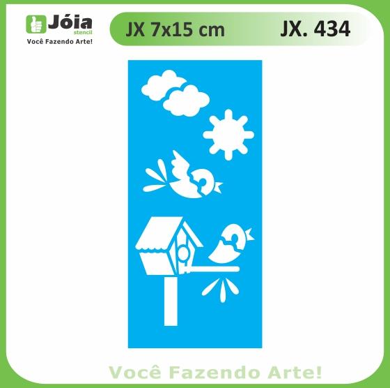 Stencil JX 434