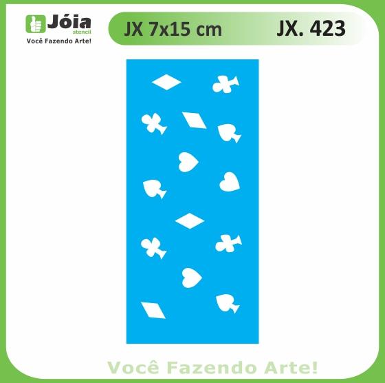 Stencil JX 423