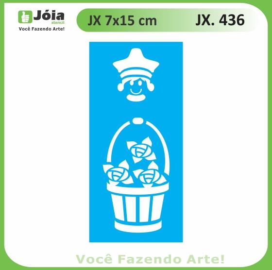 Stencil JX 436