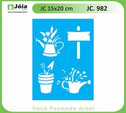 stencil JC 982