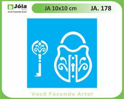 stencil JA 178