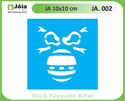 stencil JA 002