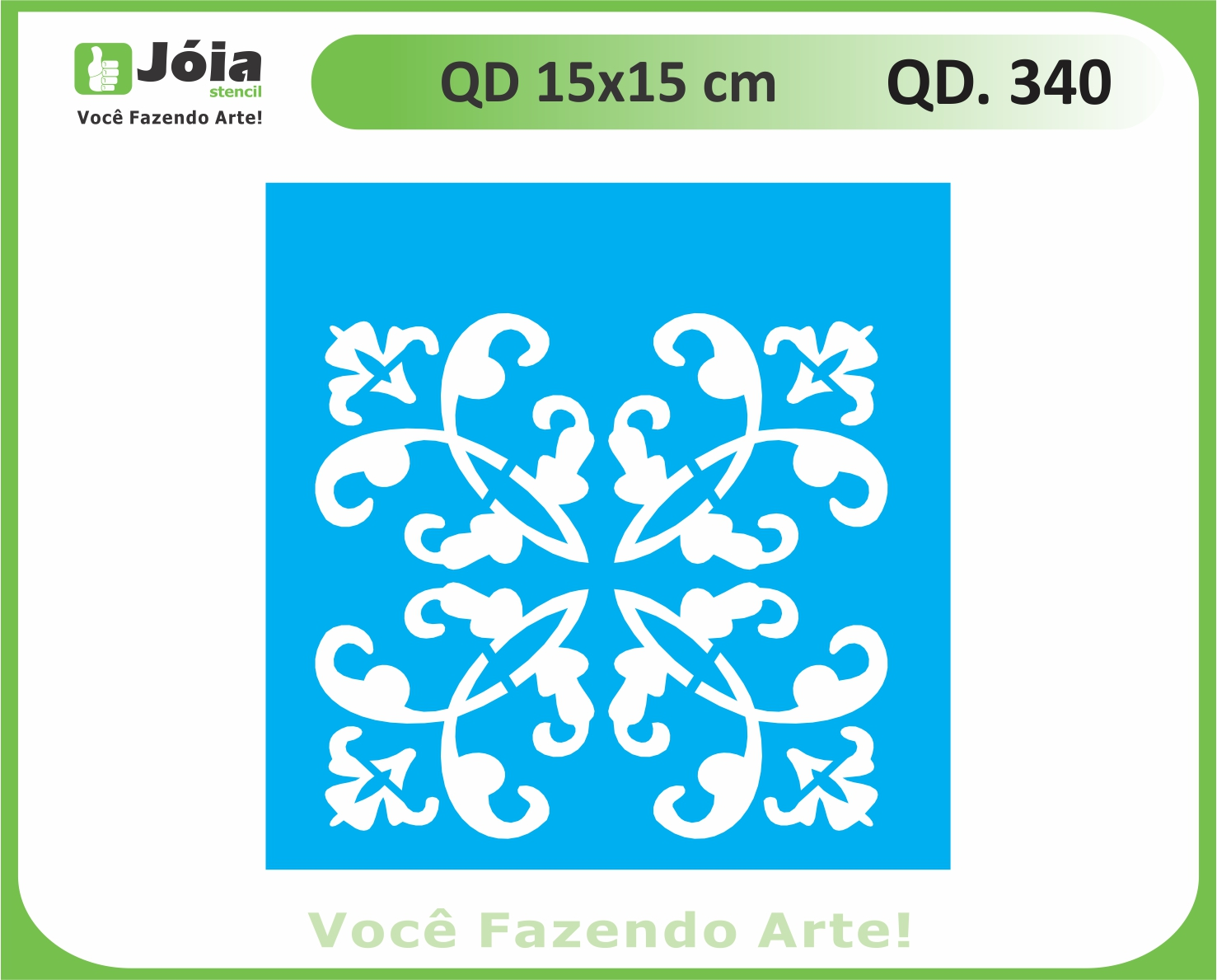 stencil QD 340