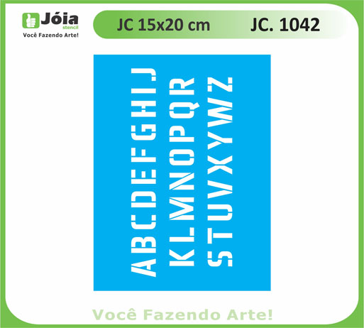 stencil JC 1042