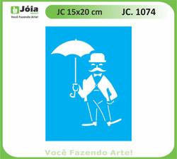 stencil JC 1074