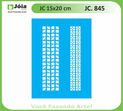 stencil JC 845