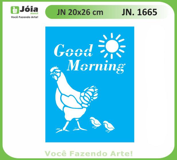 Stencil JN 1665