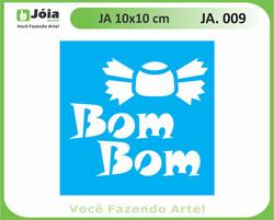 stencil JA 009