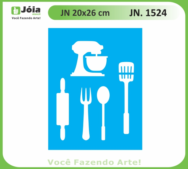 Stencil JN 1524
