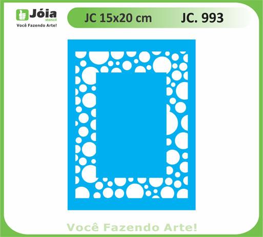stencil JC 993