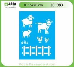 stencil JC 983