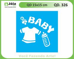 stencil QD 326