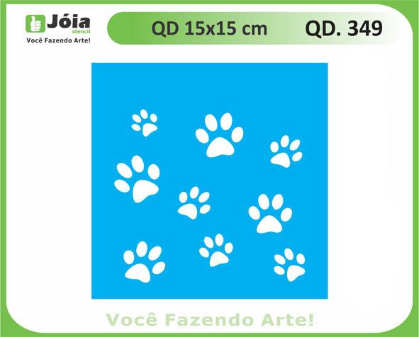 stencil QD 349