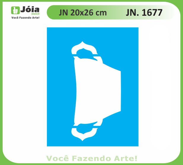 Stencil JN 1677
