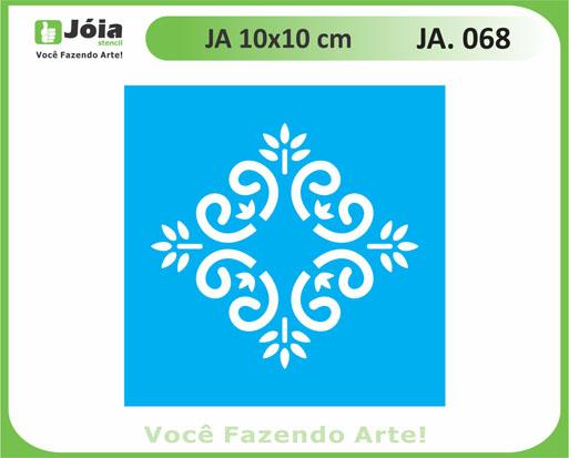 stencil JA 068