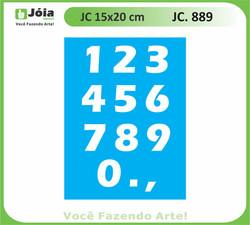 stencil JC 889