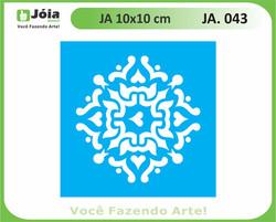 stencil JA 043