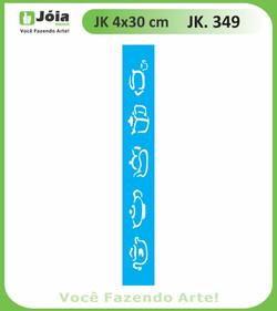 Stencil JK 349