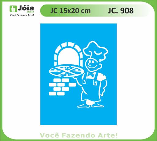 stencil JC 908