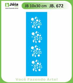 Stencil JB 672