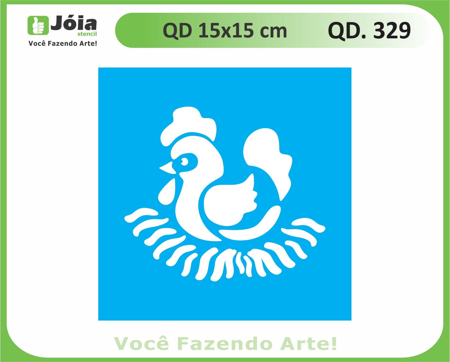 stencil QD 329
