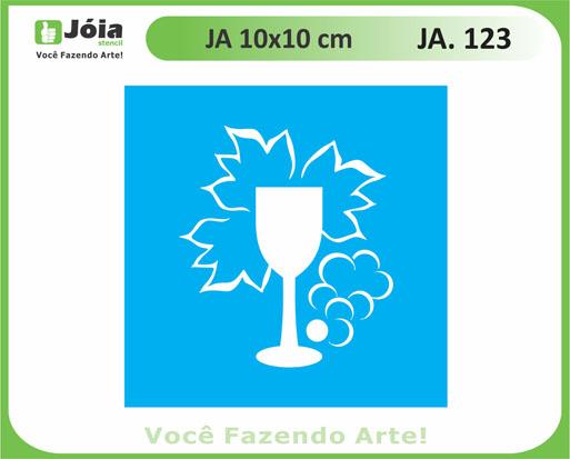 stencil JA 123